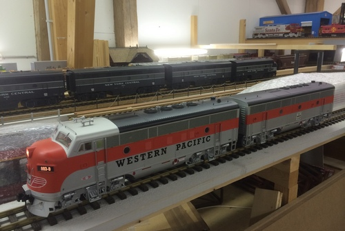 USA Trains F3 A+B Unit Western Pacific G-Scale