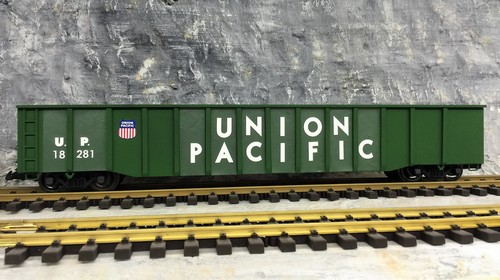 Spur G Aristocraft SD45 Union Pacific UP LGB USA Trains G Scale MTH Bachmann Aster Aristocraft Easygleis Gondola