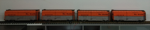 LGB G-Scale US Railraod Denver Rio Grande DRGW Boxcar G-Scale US